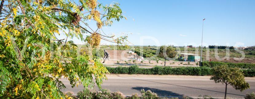 Valencia-Domus-0259AB-Massamagrell-Vistas a la huerta desde el dormitorio ppal
